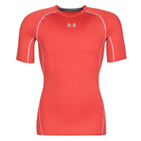 Textiel Heren T-shirts korte mouwen Under Armour UA HEATGEAR ARMOUR Rood