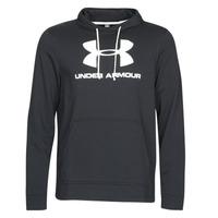 Textiel Heren Sweaters / Sweatshirts Under Armour SPORTSTYLE TERRY LOGO HOODIE Zwart