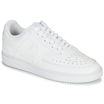 Schoenen Heren Lage sneakers Nike COURT VISION LOW Wit