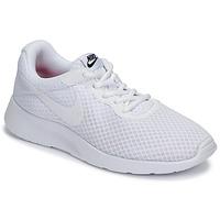 Schoenen Dames Lage sneakers Nike TANJUN Wit