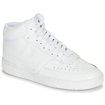 Schoenen Dames Hoge sneakers Nike COURT VISION MID Wit