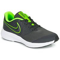 Schoenen Jongens Allround Nike STAR RUNNER 2 GS Zwart / Groen