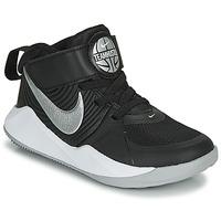 Schoenen Jongens Allround Nike TEAM HUSTLE D 9 PS Zwart / Zilver
