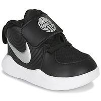 Schoenen Kinderen Allround Nike TEAM HUSTLE D 9 TD Zwart / Zilver