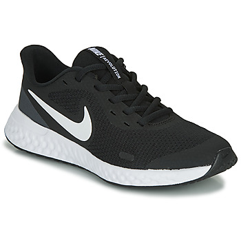Schoenen Kinderen Allround Nike REVOLUTION 5 GS Zwart / Wit