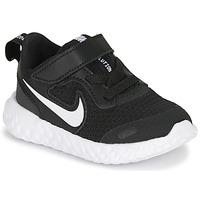 Schoenen Kinderen Allround Nike REVOLUTION 5 TD Zwart / Wit