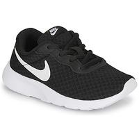 Schoenen Kinderen Lage sneakers Nike TANJUN PS Zwart / Wit