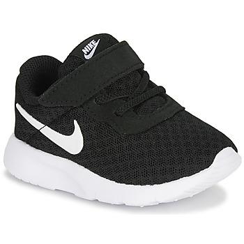 Schoenen Kinderen Lage sneakers Nike TANJUN TD Zwart / Wit