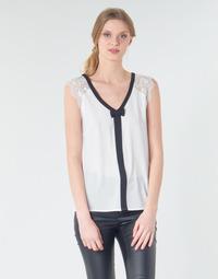 Textiel Dames Tops / Blousjes Naf Naf CORAZON Wit