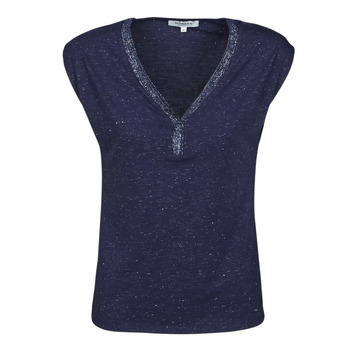 Textiel Dames T-shirts korte mouwen Morgan DMAYA Marine