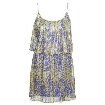 Textiel Dames Korte jurken Marciano LIQUID LEOPARD DRESS Multicolour