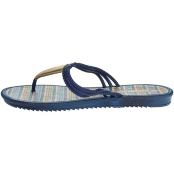 Schoenen Dames Slippers Grendha 17258 Blue