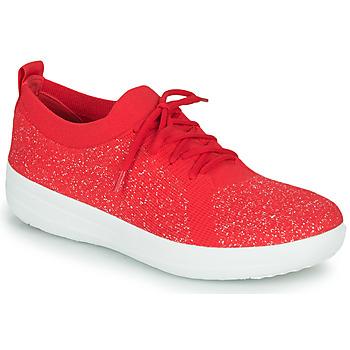 Schoenen Dames Lage sneakers FitFlop F-SPORTY UBERKNIT SNEAKERS Rood