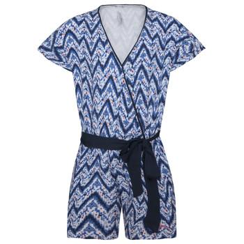 Textiel Meisjes Jumpsuites / Tuinbroeken Pepe jeans CLEA Blauw