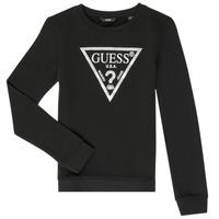 Textiel Meisjes Sweaters / Sweatshirts Guess GABOR Zwart