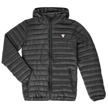 Textiel Kinderen Dons gevoerde jassen Guess HILARY Zwart