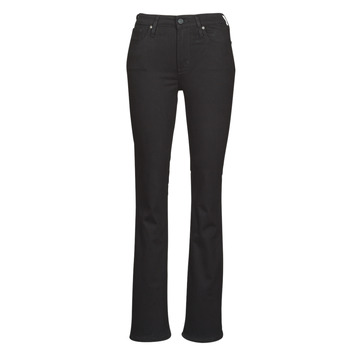 Textiel Dames Bootcut jeans Levi's 725 HIGH RISE BOOTCUT  zwart / Sheep