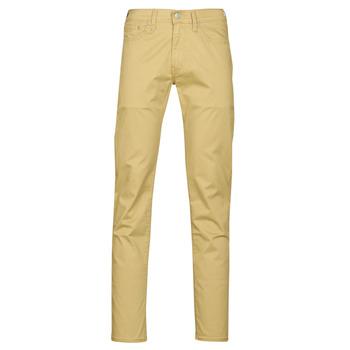 Textiel Heren 5 zakken broeken Levi's 511™ SLIM FIT Beige