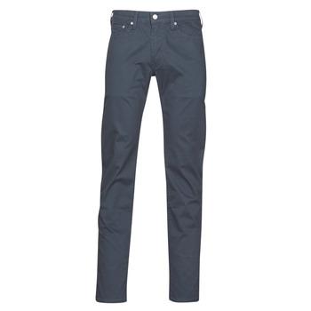 Textiel Heren 5 zakken broeken Levi's 511 SLIM FIT Marine