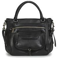 Tassen Dames Handtassen kort hengsel LANCASTER SOFT VINTAGE 5767 Zwart