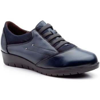 Schoenen Dames Derby Cbp - Conbuenpie Zapatillas casual de piel by CBP Bleu