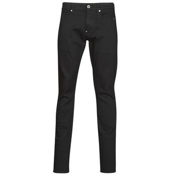 Textiel Heren Skinny Jeans G-Star Raw REVEND SKINNY Zwart