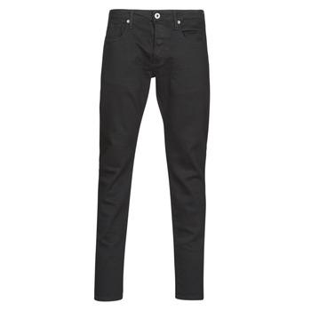 Textiel Heren Skinny jeans G-Star Raw 3301 SLIM Zwart