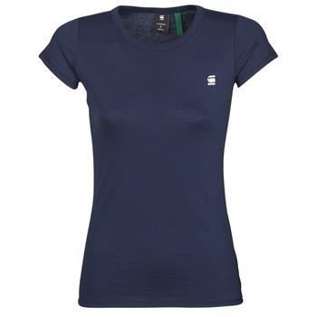 Textiel Dames T-shirts korte mouwen G-Star Raw Eyben slim r t wmn ss Sartho / Blauw