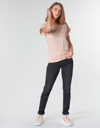 Textiel Dames Straight jeans G-Star Raw MIDGE MID STRAIGHT WMN Grijs / Donker