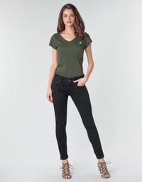Textiel Dames Skinny Jeans G-Star Raw Midge Cody Mid Skinny Wmn Pitch /  zwart