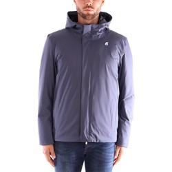 Textiel Heren Wind jackets K-Way JUKES THERMO MICRO TWILL Blauw