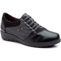 Schoenen Dames Derby Cbp - Conbuenpie Zapatillas casual de piel by CBP Noir