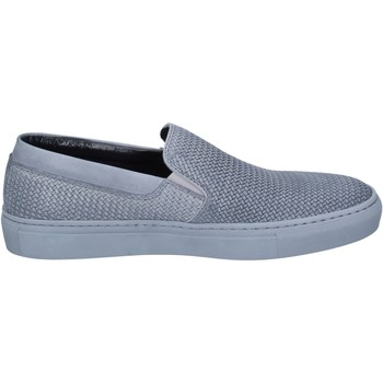 Schoenen Heren Instappers Triver Flight slip on pelle Grigio