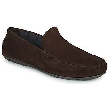 Schoenen Heren Mocassins André BIOUTY Brown