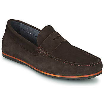 Schoenen Heren Mocassins André SKY Brown