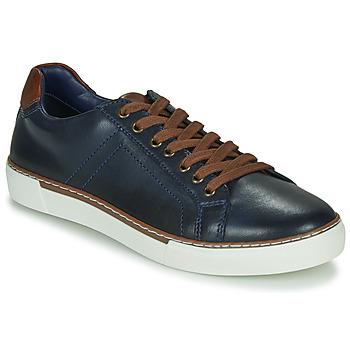 Schoenen Heren Lage sneakers André SHANN Marine