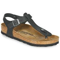 Schoenen Dames Sandalen / Open schoenen Birkenstock KAIRO LEATHER Zwart