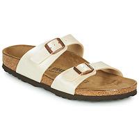 Schoenen Dames Leren slippers Birkenstock SYDNEY Nude