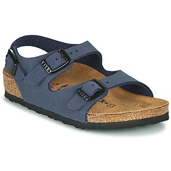 Schoenen Jongens Sandalen / Open schoenen Birkenstock ROMA Marine