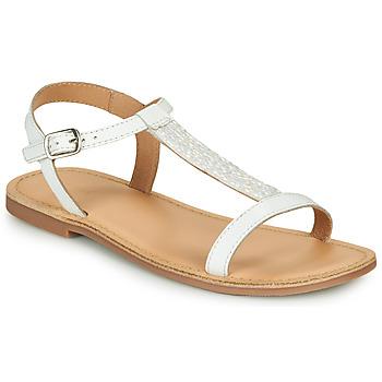 Schoenen Meisjes Sandalen / Open schoenen André ASTRID Wit