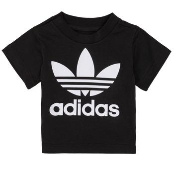 Textiel Kinderen T-shirts korte mouwen adidas Originals MARGOT Zwart