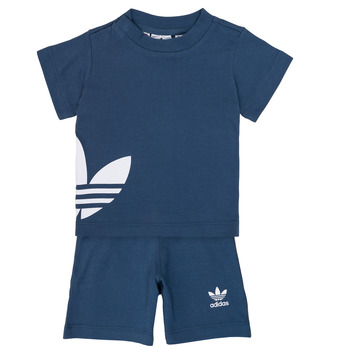 Textiel Jongens Setjes adidas Originals CYLIA Blauw