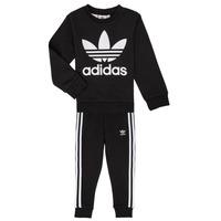 Textiel Kinderen Setjes adidas Originals LOKI Zwart