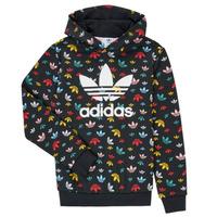 Textiel Meisjes Sweaters / Sweatshirts adidas Originals DLIA Zwart