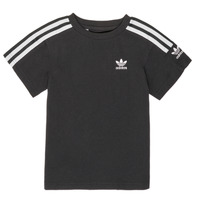 Textiel Jongens T-shirts korte mouwen adidas Originals MINACHE Zwart