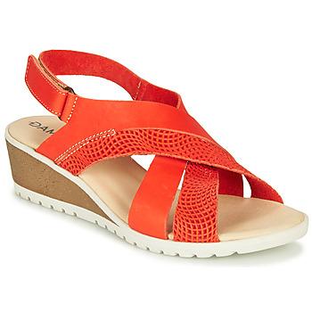 Schoenen Dames Sandalen / Open schoenen Damart MAYLO Paprika