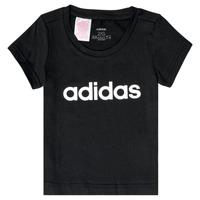 Textiel Meisjes T-shirts korte mouwen adidas Performance NATRAZ Zwart