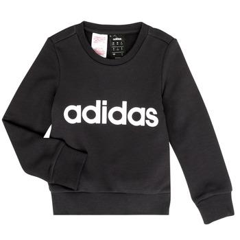 Textiel Meisjes Sweaters / Sweatshirts adidas Performance MED Zwart