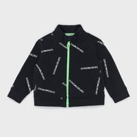 Textiel Jongens Sweaters / Sweatshirts Emporio Armani Augustin Zwart