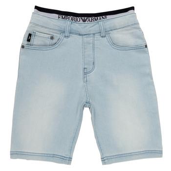Textiel Jongens Korte broeken / Bermuda's Emporio Armani Albert Blauw